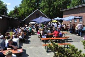 Große Sause im Brauerei Garten mit DJ @ Brauhaus der Ostfriesen Bräu | Großefehn | Niedersachsen | Deutschland
