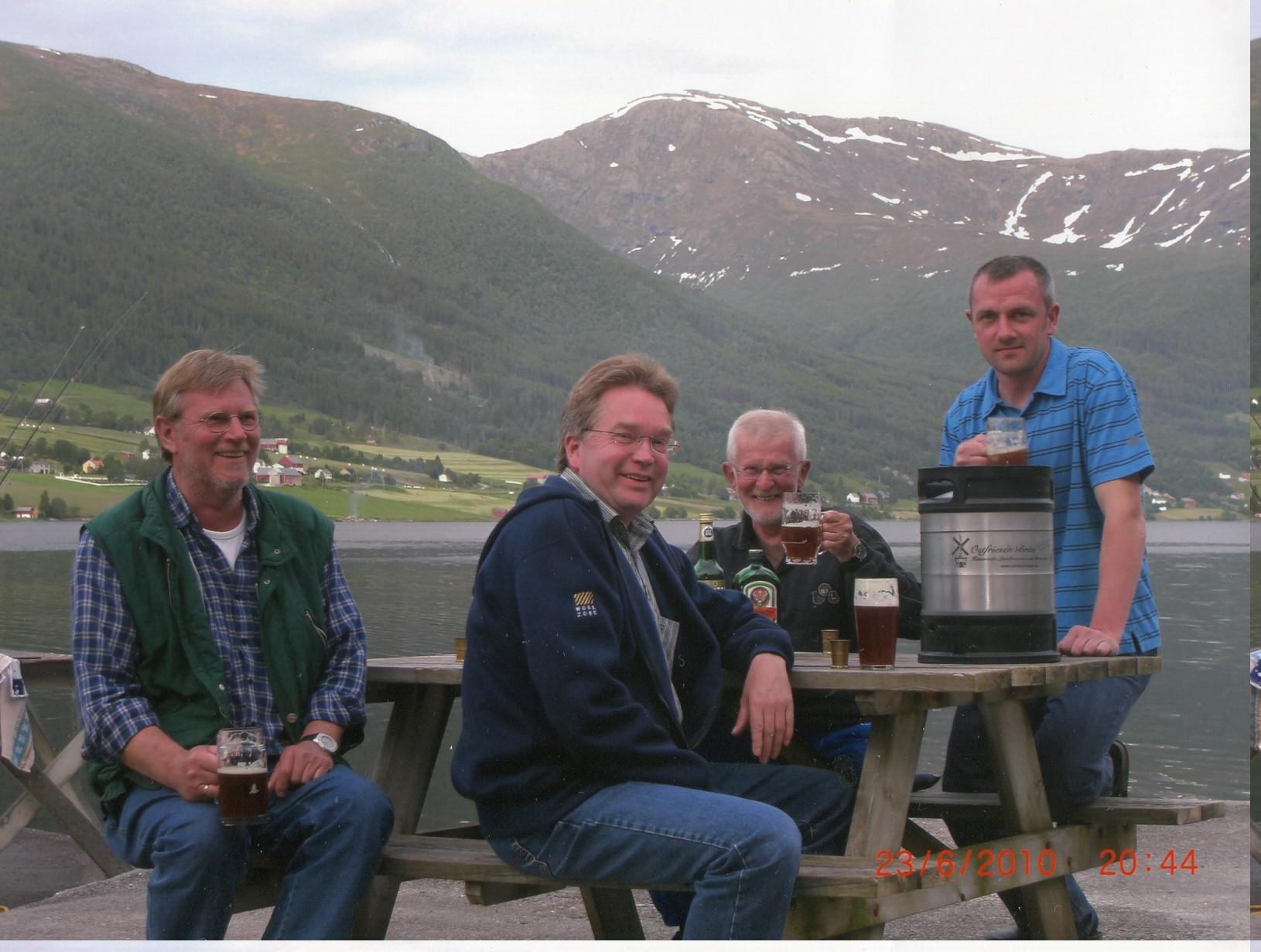 Angelurlaub in Norwegen, eingesendet von Herrn Weber