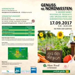 Genuss im Nordwesten @ Park der Gärten, Bad Zwischenahn | Bad Zwischenahn | Niedersachsen | Deutschland