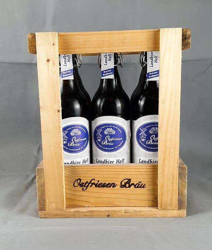 6er Kiste mit 1,0 l Flaschen